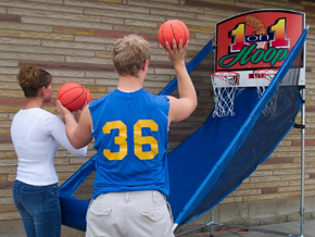 Dallas Party Carnival Game Rentals 1 On 1 Hoops Basketball