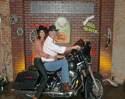 Dallas Party Instant Photos Bikers Photo Station With Props