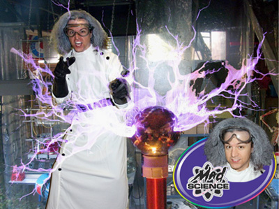 Dallas Carnival Game Rentals: Weird Science Guy