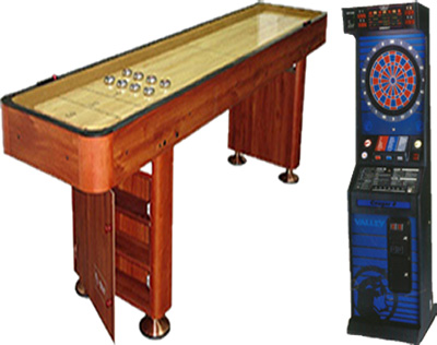 Dallas Carnival Game Rentals: Electronic Darts U0026 Shuffleboard